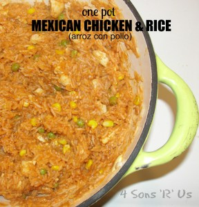 4 Sons 'R' Us: Mexican Chicken & Rice