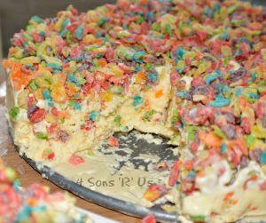 Fruity Pebble Ice Cream Cake 3