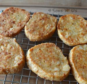 Savory White Cheddar Short Bread