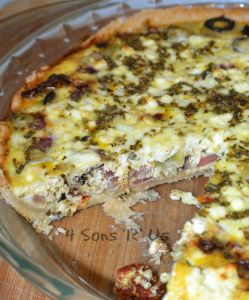 Greek Quiche 2