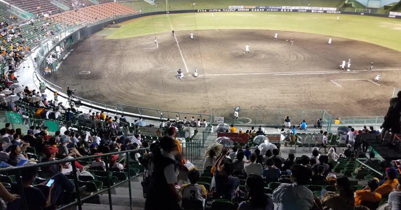 【ゲームレポート 】1球に沸く今季最多の3,696人。森崎の奮投と、ウルフ由伸からの激励と(8月25日 香川オリーブガイナーズ)