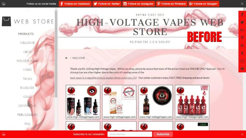 Vape Shop Marketing SEO for Vape Shops