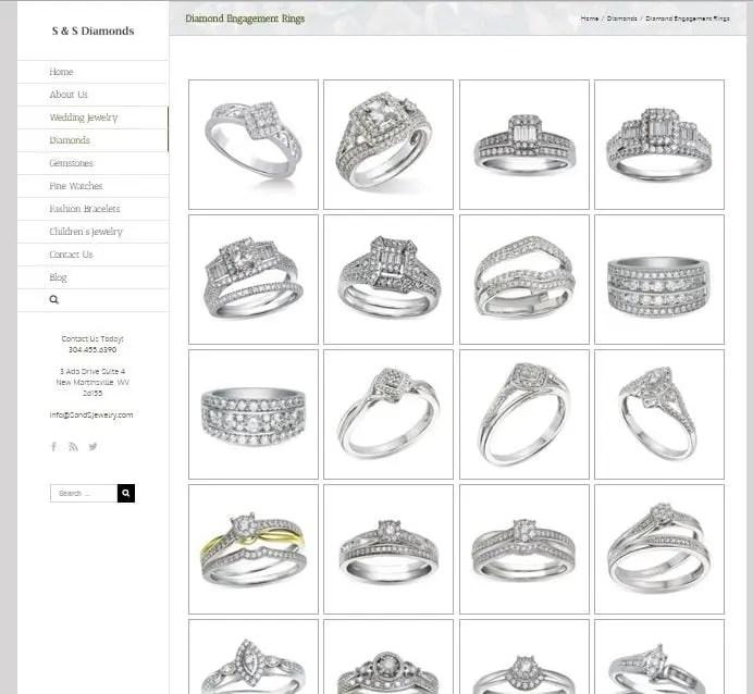 Jewelry Store Web Designer 4Spot Marketing
