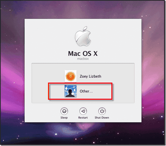 Mac OS X Active Directory Join - .Other