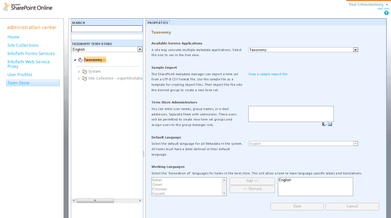 hight resolution of office 365 sharepoint enabling email archive