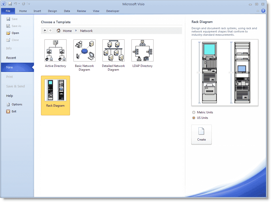 Visualizing Your Server Rack With Microsoft Visio 2010 – 4sysops