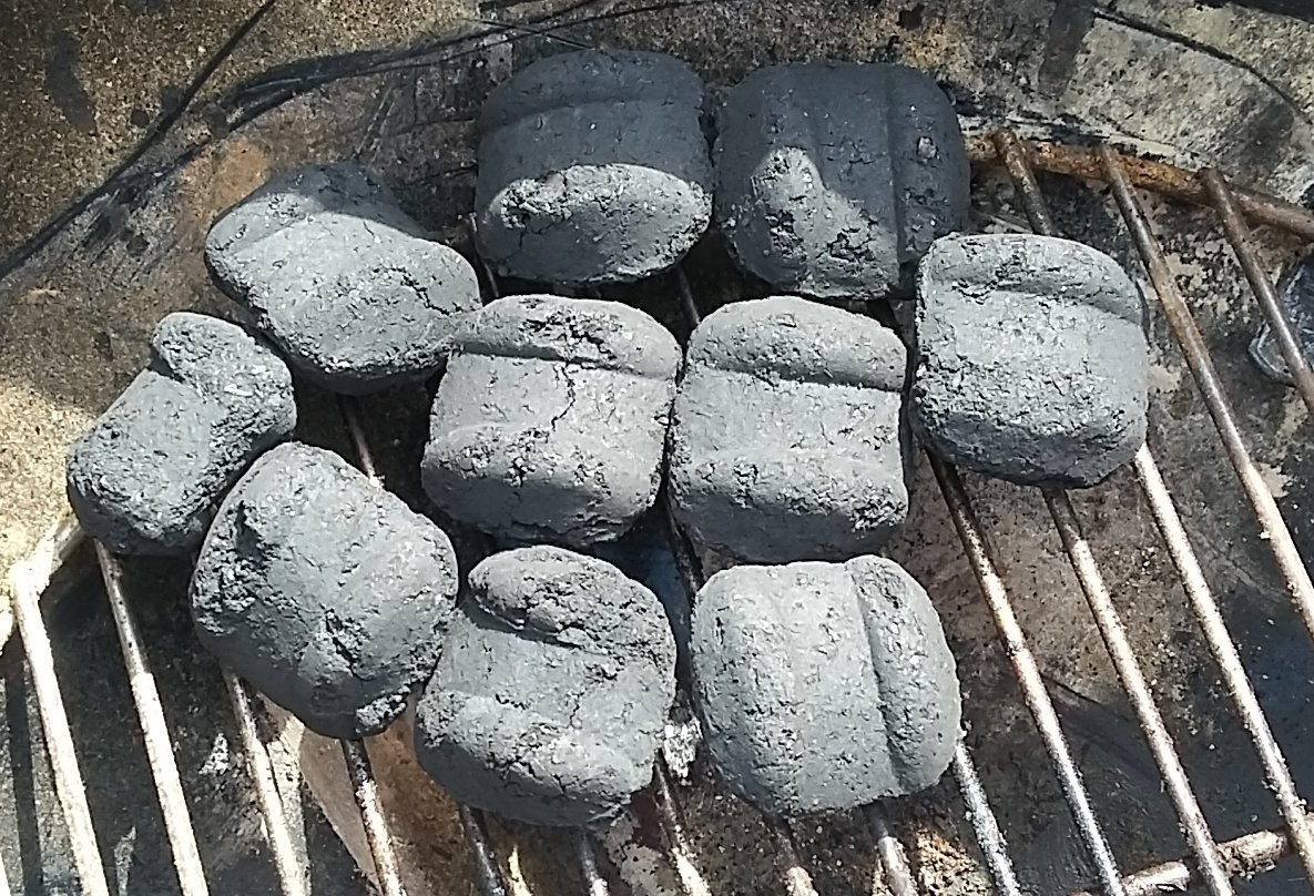 How to light charcoal without lighter fluid or chimney