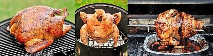 how to grill a whole turkey