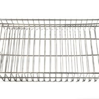 flat rotisserie basket
