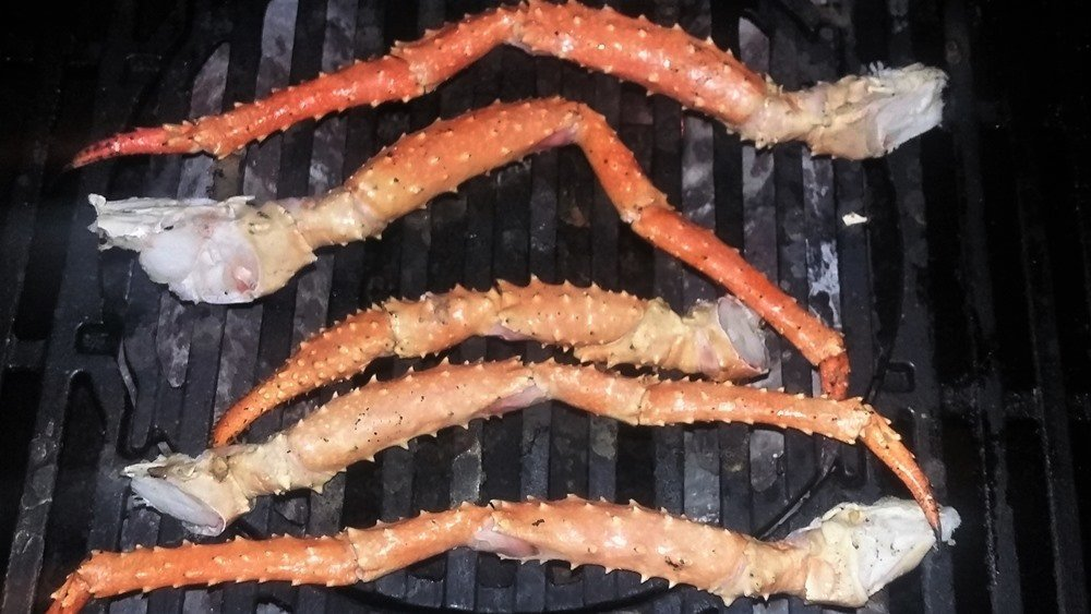 How to Grill King Crab Legs