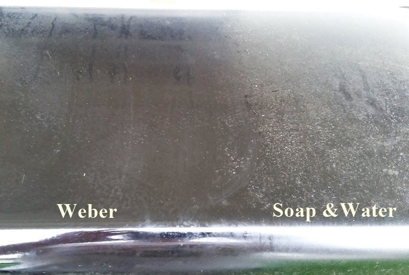 Weber exterior grill cleaner review after
