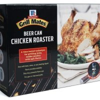 Grill Mates Enameled Beer Can Chicken Roaster