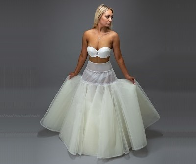 bride in a white petticoat 2