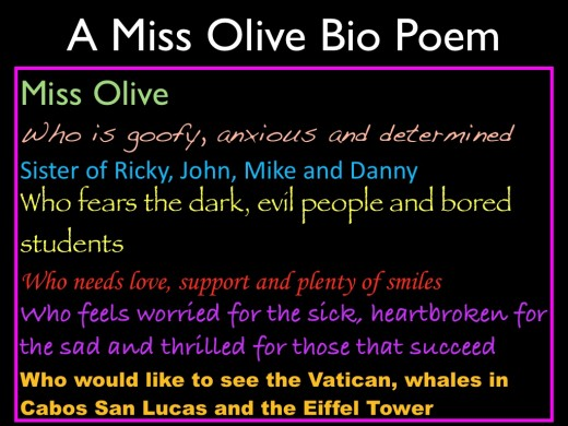 Bio Poem FOURTH GRADE COOLIDGE CROCODILES