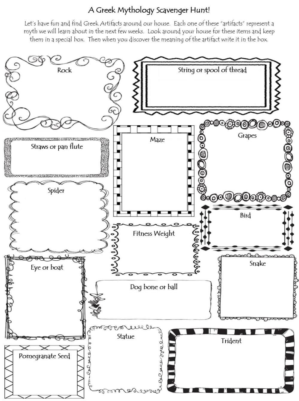 medium resolution of Greek Mythology Intorduction - 4th Grade