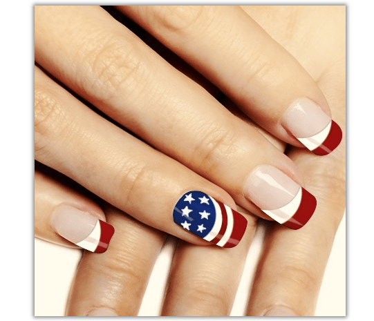 Fourth Of July Nails Easy Splendid Wedding Company