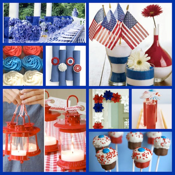 4th of July Property Decorations