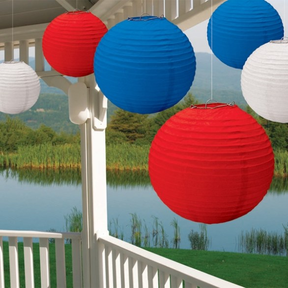 4th of July balloon decorations