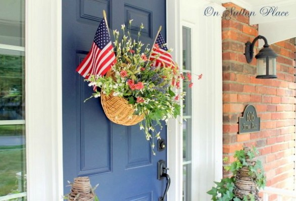 4th of July door decorations