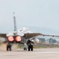Russian jet fighters still flying from Iran