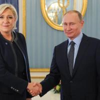 Putin and Le Pen plan world conquest