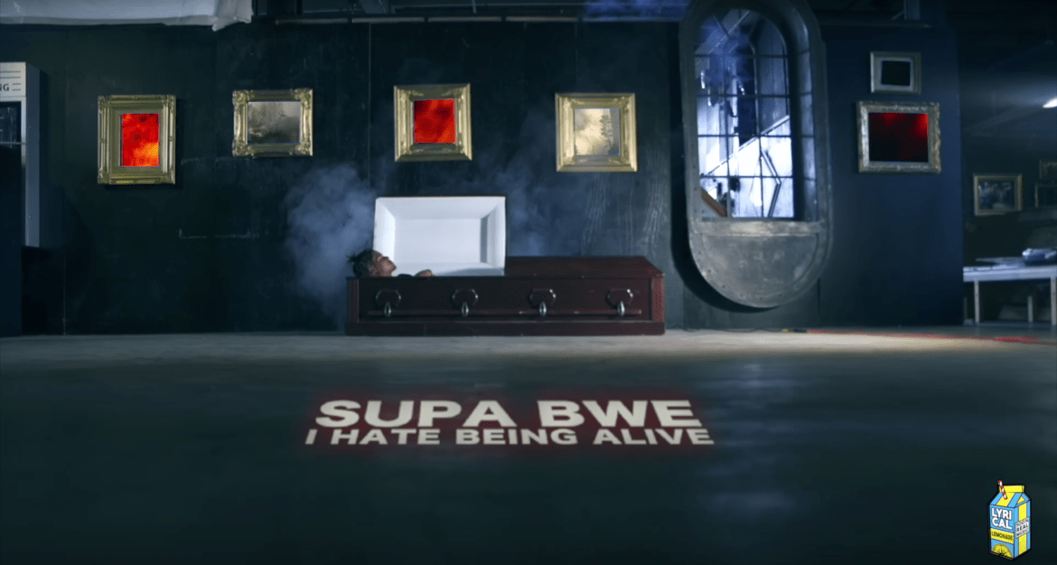 "Supa Bwe Drops Video for ""I Hate Being Alive"" & Announces ""Finally Dead"" to be Released 12/6"