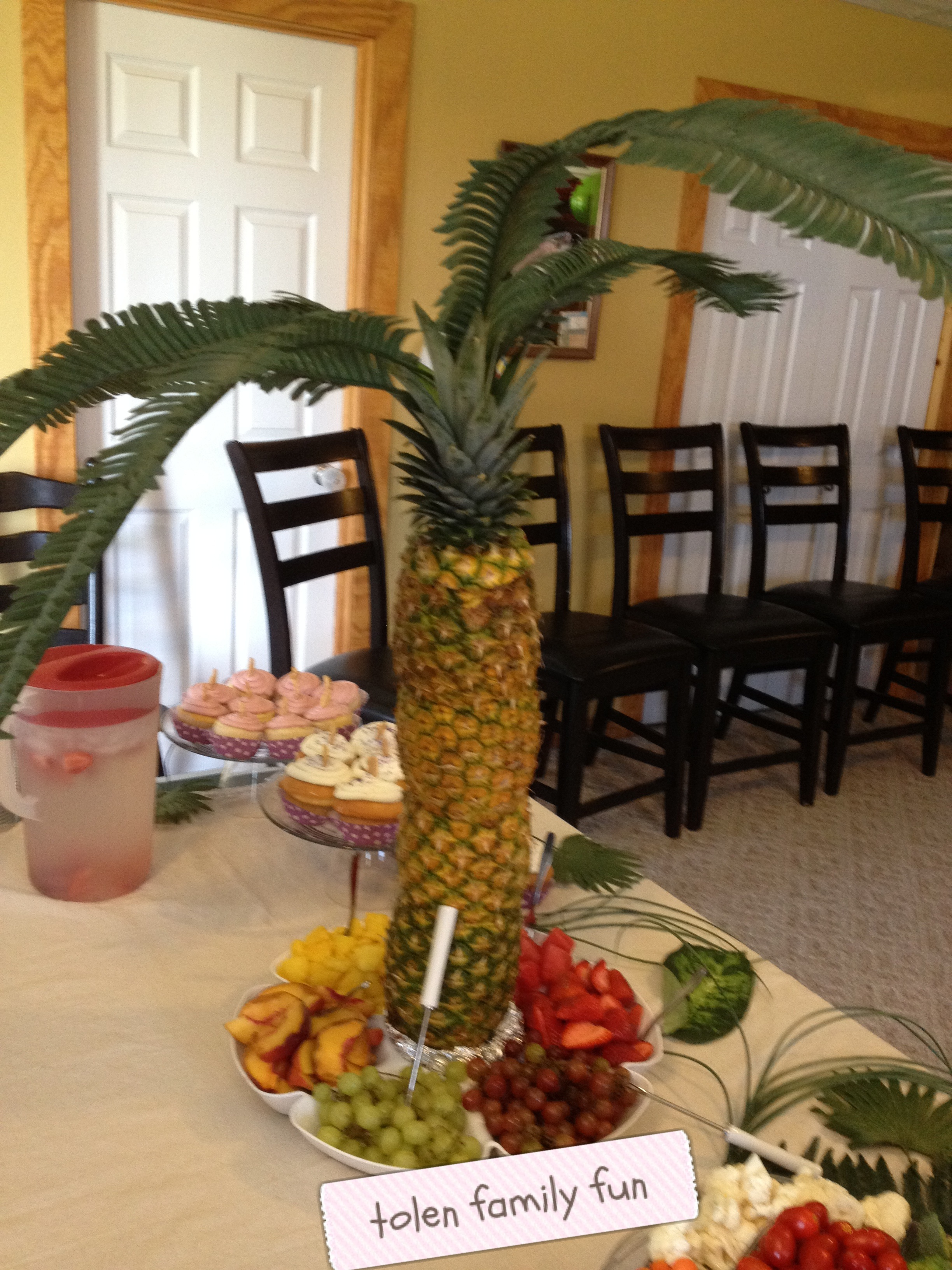 jungle baby shower  tolen family fun