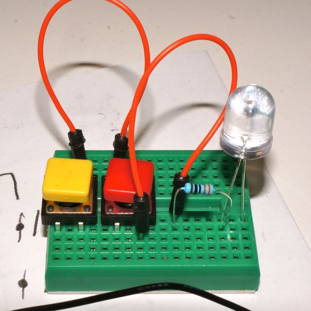 Circuits Lesson 7 Transistor Pushbutton Soldering Sunday