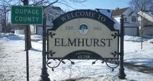 Elmhurst sign