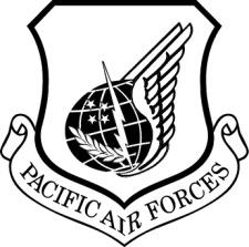 Pacific Air Forces Vector Crest Free Vector / 4Vector