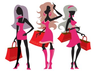 shopping vector ladies illustration important themes eps indian