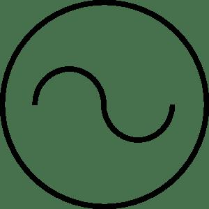 Ac Source Symbol clip art Free Vector / 4Vector