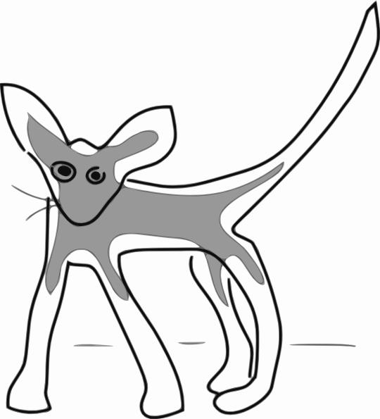 Addon Kitten clip art (118805) Free SVG Download / 4 Vector