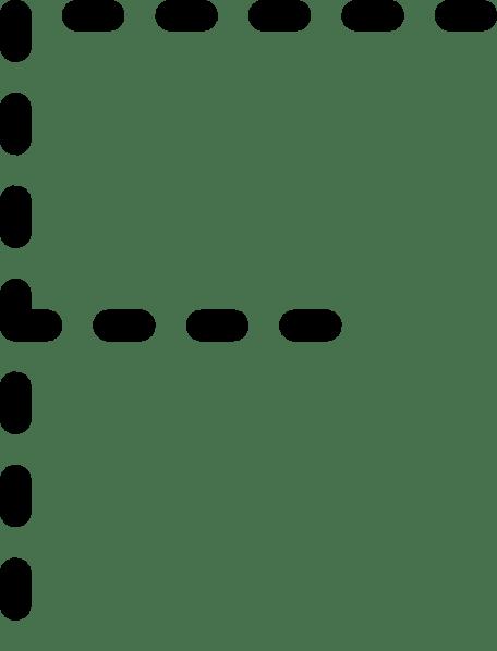 Alphabet Tracing Letter F clip art (104525) Free SVG