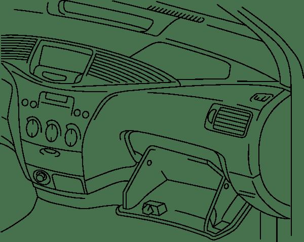 Automobile Dashboard clip art (104426) Free SVG Download