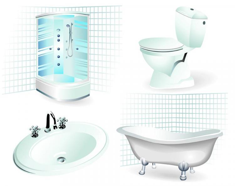 Bathroom supplies 01 vector Free Vector  4Vector