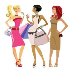 cartoon beauty vector pretty trend woman bb tips chiropractic care cliparts anda 4vector salon anggun tampil kozmeticki mira areas bellas