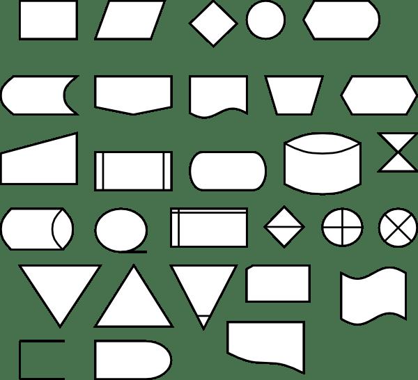 Berteh Flow Diagram Symbols clip art Free Vector / 4Vector