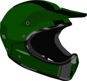 Bike Or Motorcycle Helmet Clip Art Free Vector 4Vector