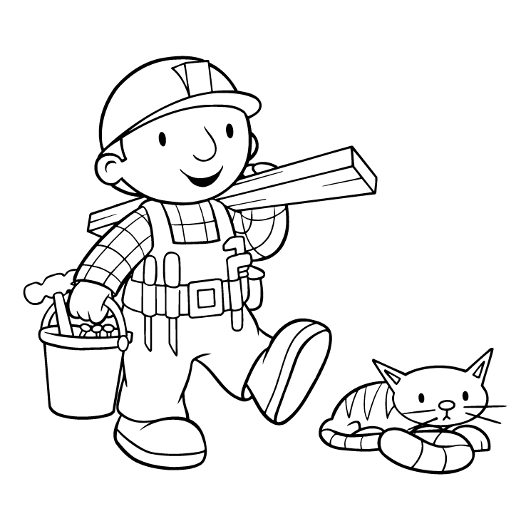Bob the builder (39234) Free EPS, SVG Download / 4Vector