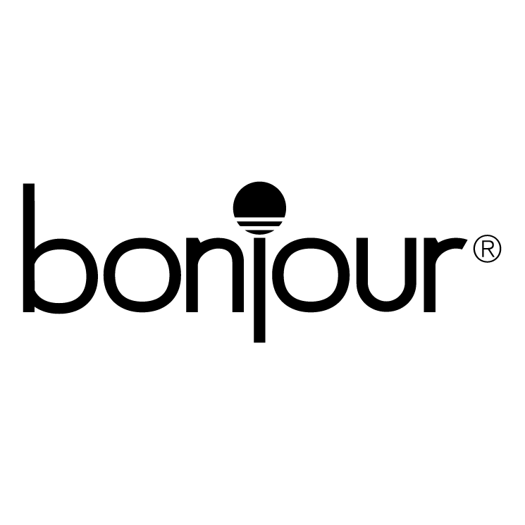 Bonjour 0 Free Vector / 4Vector