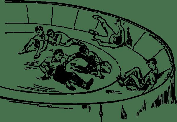 Carnival Spinner Ride clip art (108965) Free SVG Download