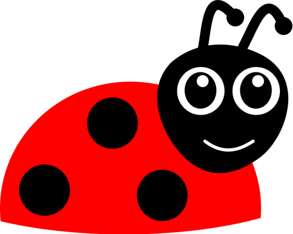 cartoon ladybug free vector 4vector