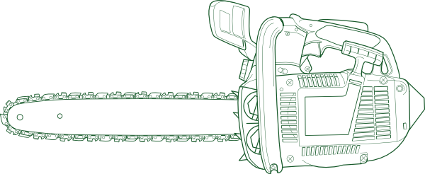 Chain Saw clip art (115952) Free SVG Download / 4 Vector