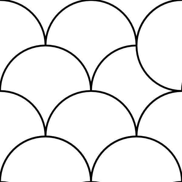 Circles Pattern Tile clip art (108794) Free SVG Download