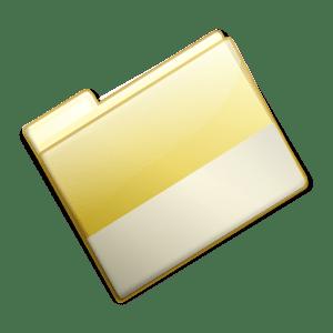 folder closed clip yellow simple vector svg vectors office sign 4vector clker