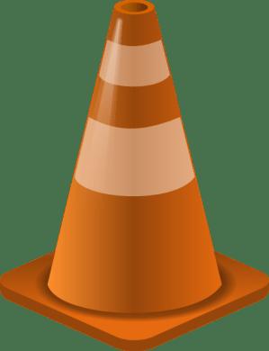Construction Cone clip art (103353) Free SVG Download  4Vector