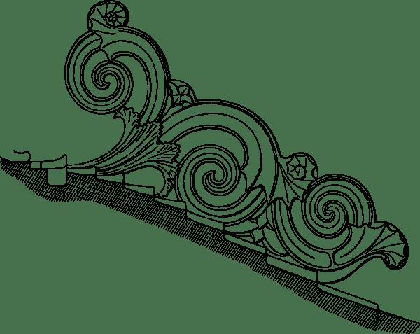 Corinthian Ornament clip art (114612) Free SVG Download
