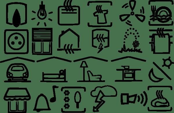 Electric Symbols clip art Free Vector / 4Vector