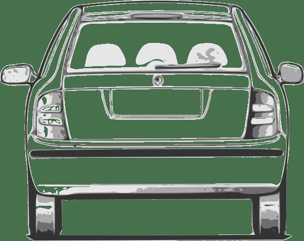 Download Fabia Car Back View clip art (109506) Free SVG Download ...